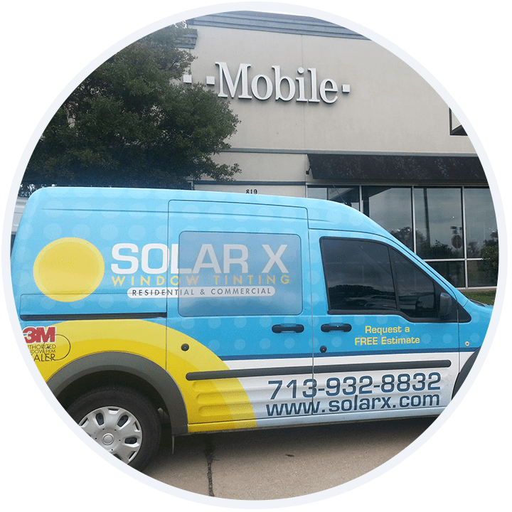 about solar X van window tint