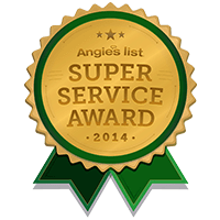 Angies List 2014 Award Solar X